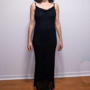 Stenay Petite black beaded dress